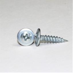 Саморез, для крепления листового металла до 0,9 мм, с прессшайбой, 4,2х13, оцинкованный