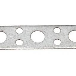 Перфорированная лента для монтажа вентиляции прямая 17х0.55