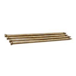 Гвозди финишные латунированные, омедненные, бронза, венге 1.2х20