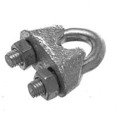 Зажим для стальных канатов DIN 741 3